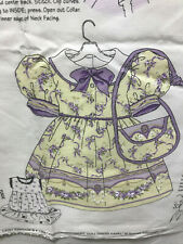 DAISY KINGDOM  FRENCH DOCUMENT ADORABLE DOLLY DRESS FITS AMERICAN GIRL AND OTHER