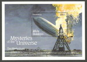 AOP Bhutan #1758 1992 Walt Disney Mysteries of the Universe MS MNH