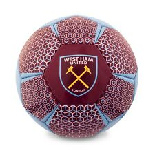 OFFICIAL WEST HAM UNITED FC FOOTBALL SIZE 5 XMAS GIFT BIRTHDAY PRESENT HOME KIT