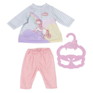 Baby Annabell Little Sweet Dress 36cm Outfit for Dolls with Leggings & Hanger