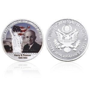 Decorative Souvenir Coin Us 33th President Harry S.Truman Challenge Coin