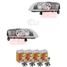 Scheinwerfer Set für Audi A6(4F2) Bj. 11/04-09/08 H7+H7 inkl. PHILIPS Lampen