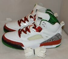 New, Tried On Air Jordan Spizike White Red Green Size 11 315371 125 #4558