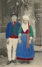 4248 Maries de Plougastel Daoulas French France Folklore Costume Vintage Card