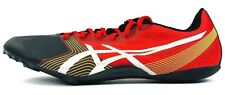 Asics Hypersprint 6 Mens Spikes Shoes Racing Flats AS G500Y Red Size 12.5 NWOT
