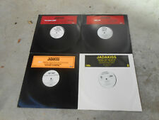"JADAKISS- 4 12"" SINGLES-PROMO'S-THE CHAMP IS HERE-TIME'S UP-KISS OF DEATH-WHY-NM"