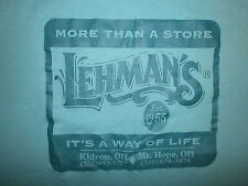 LEHMANS T SHIRT Country Store Simple Way Of Life Amish Kidron Mt Hope Ohio S