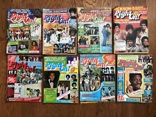 Vintage Right On Magazine Lot of 8 Jackson 5 Jimmie Walker Ask Diana 1971 74 75