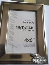 Las Vegas Sign TG273 Pewter On PICTURE PHOTO FRAME SILVER 6X4 Hang/Stand