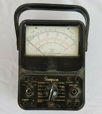Vintage Simpson 260 Series 5 Analog Milliammeter Vom Multi Meter