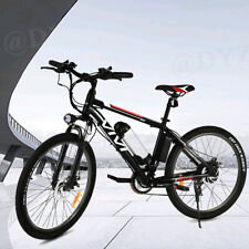 26IN Electric Mountain Bicycle 500W Bike Ebike with Removeable Li-Battery Max in