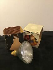 Sylvania GTE 150W Vintage Clear Floodlight Bulb NOS Outdoor Lamps