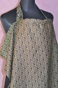 100% cotton-Breastfeeding/Bottle feeding cover/ cape/ apron baby shower