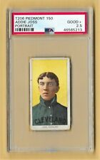 1909-11 - T206 -Addie Joss - Portrait - Piedmont 15  - Cleveland - PSA 2.5 GOOD+