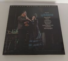 PUCCINI LA BOHEME MFSL 2-526 (DO-LP-BOX/JAPAN PRESSING-SERIES) SEALED MINT!
