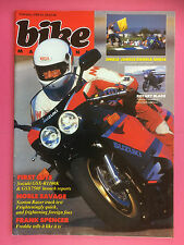 BIKE - February 1989, Moto Guzzi Le Mans Mk5 - Norton Rotary Commander