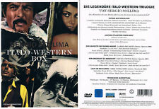 Sergio Sollima: ITALO-WESTERN BOX --- 3 Filme + Lexikon --- Rarität ---