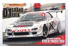 AOSHIMA D1 Grand Prix 1/24 A'PEX D1 Project FD3S RX-7 2003 D1GP Champion model