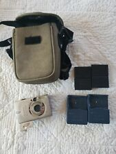 CANON PowerShot SD550 Digital 7.1 MP ELPH Camera w/  4 BATTERY - Charger - Case