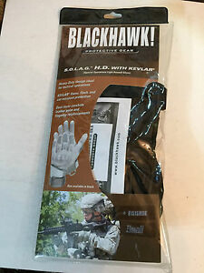 Blackhawk SOLAG with Kevlar Assault Gloves 8151SMBK  Sm Blk