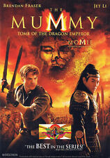 Thriller - The Mummy Tomb Of The Dragon Emperor (DVD, 2008) (Bilingual) RARE