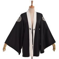 Women Kimono Cardigan Tops Loose Blouse Coat Wrap Crane Printing Beach Cover Up