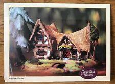 Disney WDCC Enchanted Places Seven Dwarfs Cottage 11x14 Art Print Lithograph New