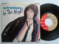"Cliff Richard / In The Night 7"" Vinyl Single 1980 mit Schutzhülle"