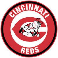 Cincinnati Reds Circle Logo Vinyl Decal / Sticker 10 Sizes!!!