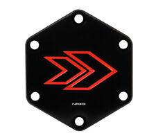 NRG Aluminum Steering Wheel Horn Button Delete Black Cover Plate STR-620RD