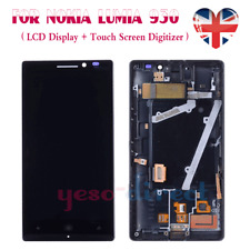 For Nokia Lumia 930 Screen Replacement LCD Touch Digitizer Display Black + Frame