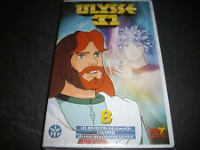 VINTAGE K7 vhs VIDEO SOUS BLISTER  ULYSSE 31 fox kids n°8