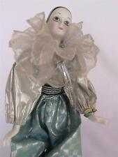 Collectible VINTAGE PORCELAIN CLOWN - WITH ADJUSTABLE STAND.