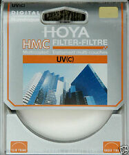 Original Nueva Hoya Hmc Uv (c) Multi Coated Filtro 77mm Uk libre p+p