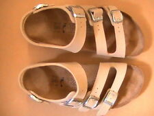 Birki's Triple Strap Comfort Sandals With Backstrap, Make Offer