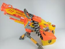 NERF HAVOK FIRE VULCAN EBF-25 ELITE GUN BLASTER N-STRIKE HAVOC EBF25 + AMMO BELT