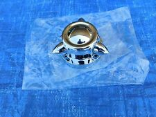 CHROME KROMMENTS GAS CAP COVER HARLEY DAVIDSON & CUSTOM CHOPPER 1936-1972