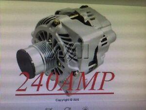 PONTIAC GTO NEW HD ALTERNATOR 240 HIGH AMP 2005 2006 Decoupler Pulley Generator