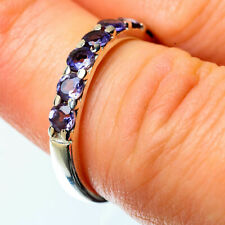 Tanzanite 925 Sterling Silver Ring Size 6.25 Ana Co Jewelry R25426F