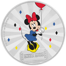 Niue 2 Dollar 2019 - Minnie Mouse™ Mickey Mouse™ & Friends (2.) - 1 Oz Silber PP