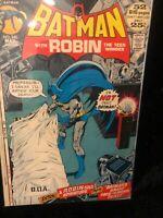 Batman #240 FN DC Comics Bronze Age Key Issue ! Neal Adams Cover!