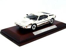 BMW M1 BAUJAHR YEAR 1978 CHROME ATLAS 1:43  DIECAST CAR COLLECTOR'S MODEL, NEW