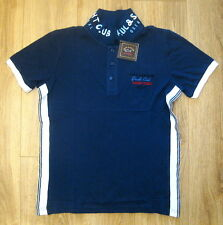 Neu Herren Poloshirt Paul & Shark Pique SLIM FIT Gr.2XL