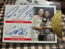 Diana TAURASI - Cappie PONDEXTER AUTOGRAPH WNBA Finals
