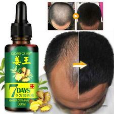 7 Day Ginger Regrowth Germinal Serum Natural Hair Growth Harmless Oil Treatment