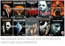 HALLOWEEN 1-10 COMPLETE MOVIE COLLECTION DVD 1 2 3 4 5 6 7 8 9 10  FILM UK NEW x
