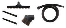 10 FT Vacuum Hose, Wands, Floor Brush, and Dusting Brush for Craftsman Shop Vac