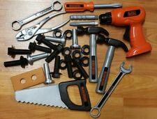 31 Piece Black & Decker Kids Pretend Play Tools Lot EUC Carpentry Mechanic