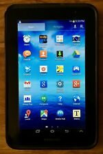 8GB Black Samsung Galaxy Tab 2 7.0 WiFi Only Bluetooth Android 4.2.2 Jelly Bean