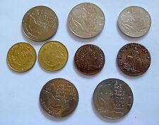 Lot verschiedenster Medaillen und Münzen teilweise ECU